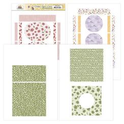 PMFC10001 - Printed Figure Cards - Precious Marieke - Blooming Summer