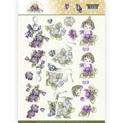 CD11314 - 10 stuks knipvellen - Precious Marieke - Blooming Summer - Summer Scenes
