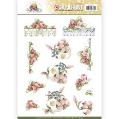 SB10354 - Uitdrukvel - Precious Marieke - Blooming Summer - Red Summer Flowers