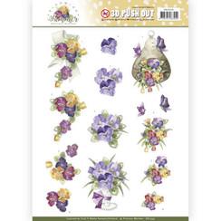 SB10355 - Uitdrukvel - Precious Marieke - Blooming Summer - Summer Pansies