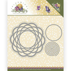PM10152 - Mal - Precious Marieke - Blooming Summer - Braided Circle