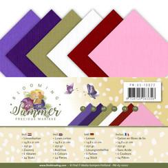 PM-A5-10022 - Linnenpakket - A5 - Precious Marieke - Blooming Summer