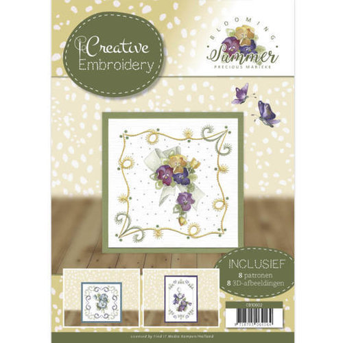 Precious Marieke CB10002 - Creative Embroidery 2 - Precious Marieke - Blooming Summer