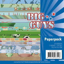 YCPP10024 - Papierpak - Yvonne Creations- Big Guys