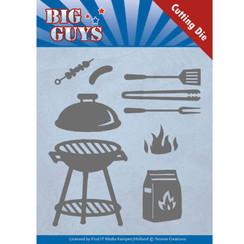 YCD10171 - Mal - Yvonne Creations - Big Guys - BBQ time