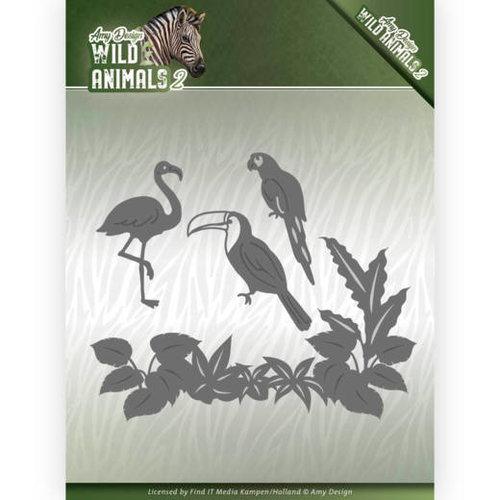 Amy Design ADD10174 - Mal - Amy Design - Wild Animals 2 - Tropical Birds