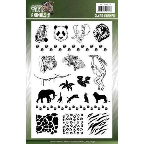 Amy Design ADCS10058 - Stempel - Amy Design - Wild Animals 2