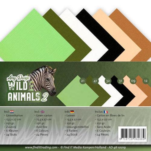 Amy Design AD-4K-10019 - Linnenpakket - 4K - Amy Design - Wild Animals 2