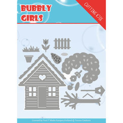 YCD10169 - Mal - Yvonne Creations - Bubbly girls- In the Garden