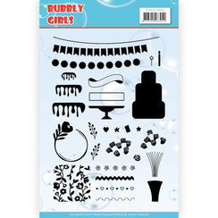 YCCS10049 - Stempel - Yvonne Creations - Bubbly Girls