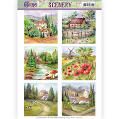 CDS10011 - Die Cut Topper - Scenery  Amy Design - Spring Landscapes 2