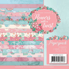 YCPP10022 - Papierpak - Yvonne Creations - Flowers with a Twist