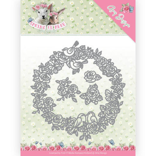 Amy Design ADD10166 - Mal - Amy Design - Spring is Here - Circle of Roses