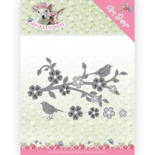 Amy Design ADD10171 - Mal - Amy Design - Spring is Here - Blossom Branch