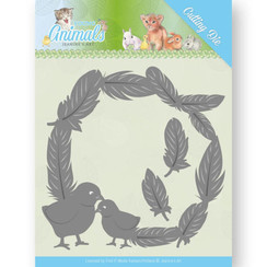 JAD10067 - Mal - Jeanines Art- Young Animals - Feathers all Around