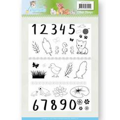 JACS10024 - Stempel - Jeanines Art- Young Animals