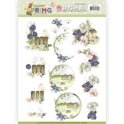SB10328 - Uitdrukvel - Precious Marieke - Happy Spring - Happy on the Farm