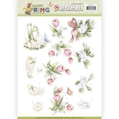 SB10330 - Uitdrukvel - Precious Marieke - Happy Spring - Happy Spring Flowers