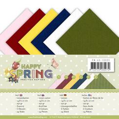PM-A5-10021 - Linnenpakket - A5 - Precious Marieke - Happy Spring