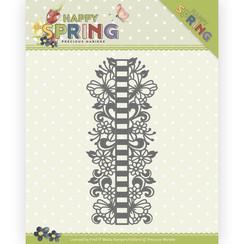PM10147 - Mal - Precious Marieke - Happy Spring - Ribbon Border