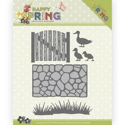 PM10149 - Mal - Precious Marieke - Happy Spring - Garden