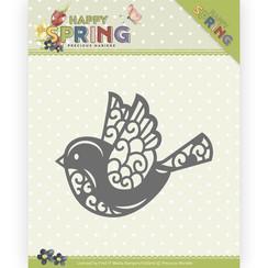 PM10151 - Mal - Precious Marieke - Happy Spring - Happy Bird - HZ Die