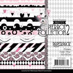 YCPP10021 - Papierpak - Yvonne Creations- Pretty Pierrot 2