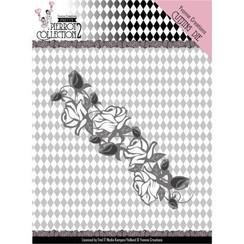 YCD10162 - Mal - Yvonne Creations- Pretty Pierrot 2 - Rose Border