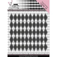 YCD10161 - Mal - Yvonne Creations- Pretty Pierrot 2 - Diamond Pattern