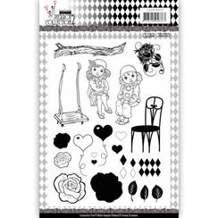 YCCS10047 - Stempel - Yvonne Creations- Pretty Pierrot 2