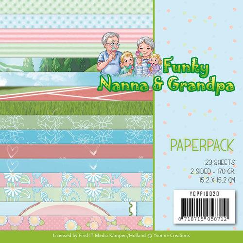 Yvonne Creations YCPP10020 - Papierpak - Yvonne Creations - Funky Nanna's