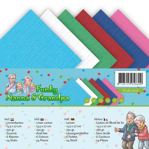 Yvonne Creations YC-A5-10016 - Linnenpakket - A5 - Yvonne Creations - Funky Nanna's