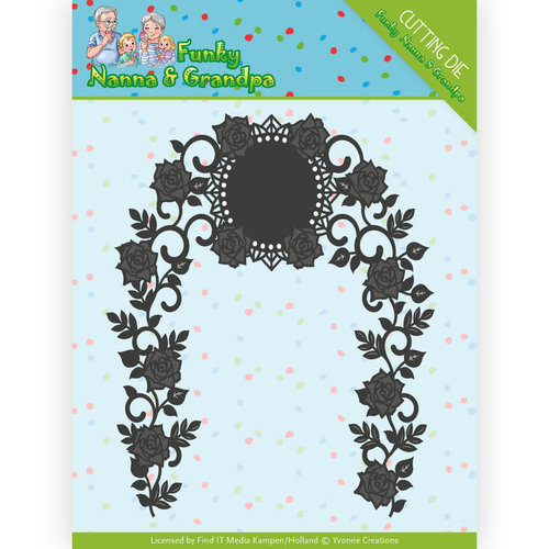 Yvonne Creations YCD10158 - Mal - Yvonne Creations - Funky Nanna's - Floral Arch