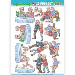 SB10321 - 3D Uitdrukvel - Yvonne Creations - Funky Nanna's - Happy Together
