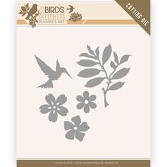 JAD10063 - Mal - Jeanines Art- Birds and Flowers - Birds Foliage
