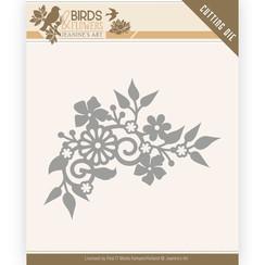 JAD10062 - Mal - Jeanines Art- Birds and Flowers - Birds Corner