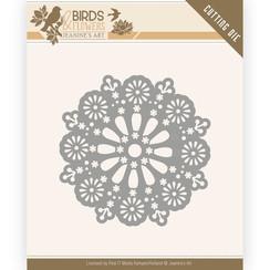 JAD10060 - Mal - Jeanines Art- Birds and Flowers - Daisy Circle