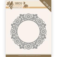 JAD10059 - Mal - Jeanines Art- Birds and Flowers - Flower Circle