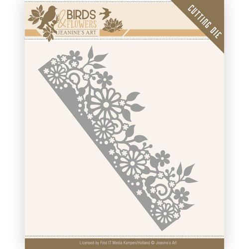 Jeanines Art JAD10058 - Mal - Jeanines Art- Birds and Flowers - Daisy Border