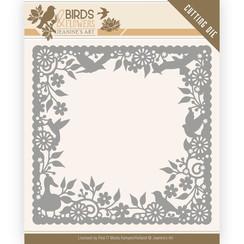 JAD10057 - Mal - Jeanines Art- Birds and Flowers - Birds Frame