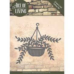 JAD10056 - Mal - Jeanines Art- Art of Living - Hanging Plant
