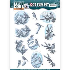 SB10308 - 3D Uitdrukvel - Amy Design - Keep it Cool - Cool Birds
