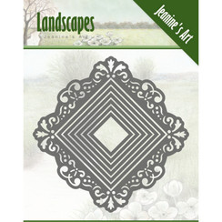 JAD10050 - Mal - Jeanines Art- Landscapes - Mini Frame Square