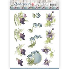 SB10299 - Uitdrukvel - Precious Marieke - Winter Flowers - Orchids