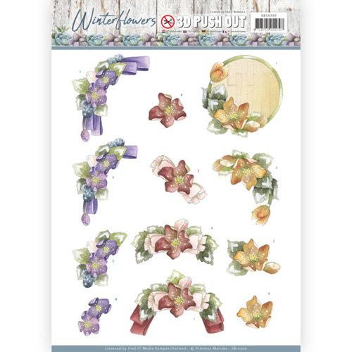 Precious Marieke SB10300 - Uitdrukvel - Precious Marieke - Winter Flowers - Helleborus