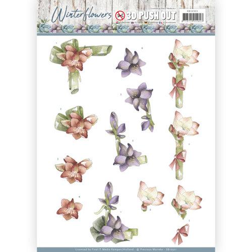 Precious Marieke SB10301 - Uitdrukvel - Precious Marieke - Winter Flowers - Amaryllis