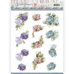 SB10302 - Uitdrukvel - Precious Marieke - Winter Flowers - Roses