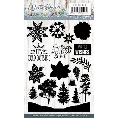 Precious Marieke PMCS10039 - Stempel - Precious Marieke - Winter Flowers