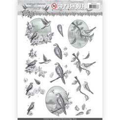 SB10314 - 3D Uitdrukvel - Amy Design - Words of Sympathy - Sympathy Swallows