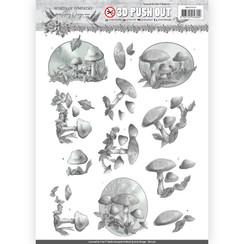 SB10316 - 3D Uitdrukvel - Amy Design - Words of Sympathy - Sympathy Forest